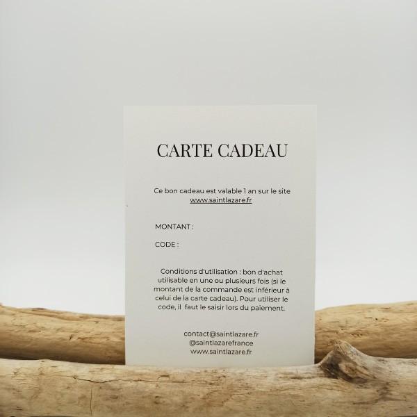 CARTE CADEAU (montant à définir)