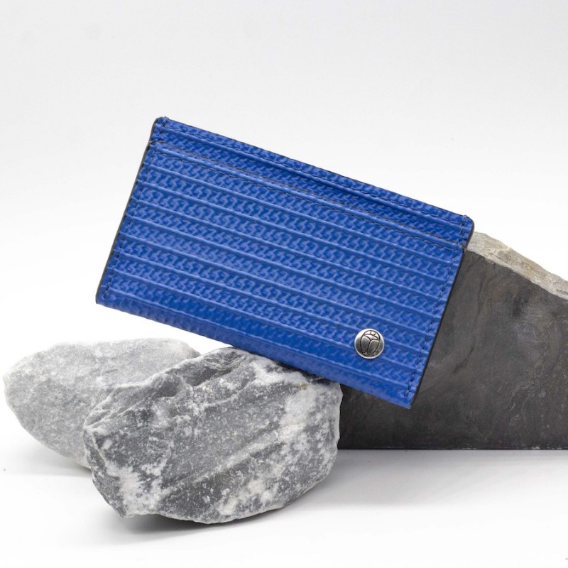 Porte-cartes Karl bleu