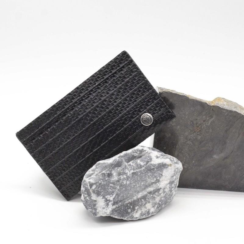 Porte-cartes Karl noir