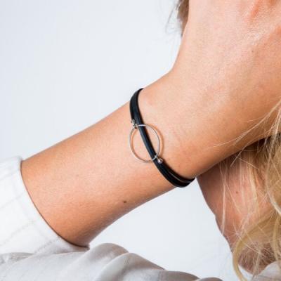 Bracelet upcyclé, vegan et durable - mode durable - bijou éthique