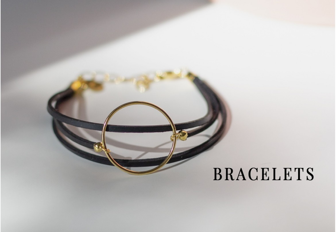 Bracelet éthique, vegan et made in France - upcycling chic