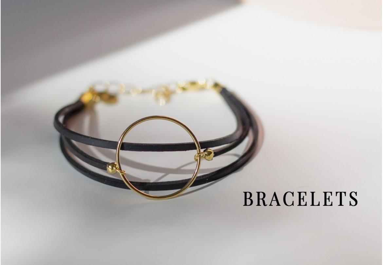 Bracelet éthique, vegan et made in France - upcycling chic