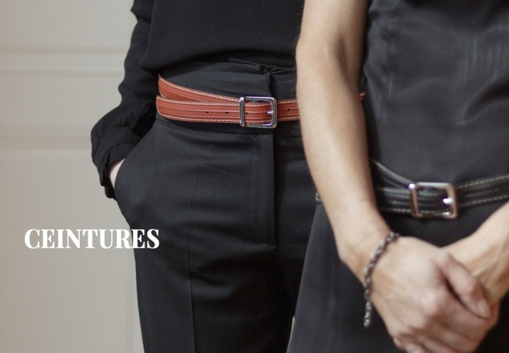 Ceinture vegan, made in France et upcyclée - upcycling chic