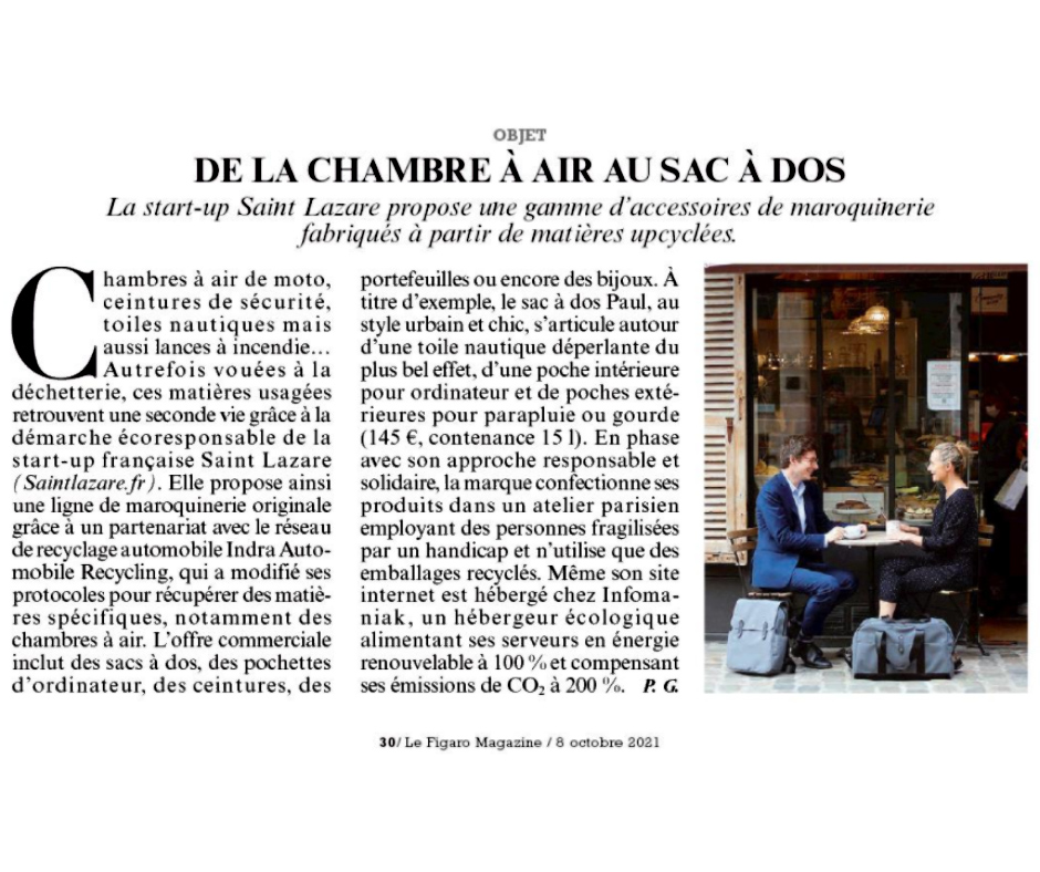 saint lazare x figaro magazine