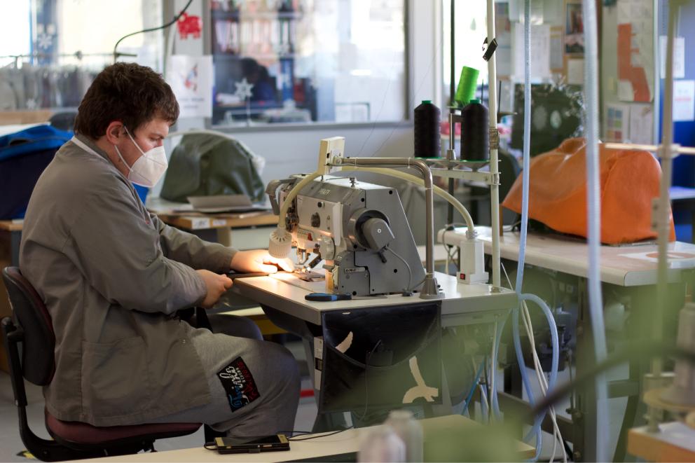 atelier de fabrication made in France esat
