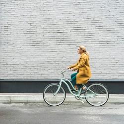 """Comme une envie de s'évader, de prendre son vélo et de rouler en se disant """"life is a beautiful ride""""... #saintlazarefrance #velo #ecolo #modedurable  #madeinfrance #upcycling #zerodechet #ecoresponsable #consommerautrement #modeethique"""